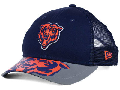 Chicago Bears New Era Kids Mega Flect Cap