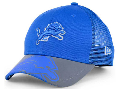 Detroit Lions New Era Kids Mega Flect Cap