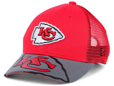 Kansas City Chiefs New Era Kids Mega Flect Cap