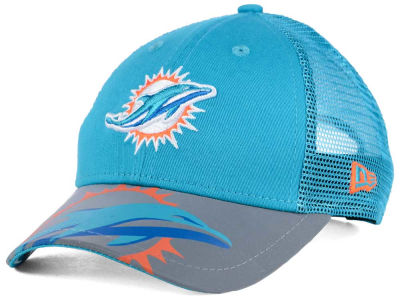Miami Dolphins New Era Kids Mega Flect Cap