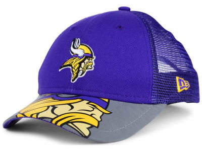 Minnesota Vikings New Era Kids Mega Flect Cap