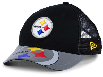 Pittsburgh Steelers New Era Kids Mega Flect Cap