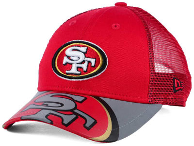 San Francisco 49ers New Era Kids Mega Flect Cap