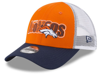 Denver Broncos New Era NFL Kids Trucker Joy 9FORTY Cap 3d33e0125bd