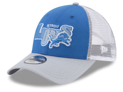 Detroit Lions New Era NFL Kids Trucker Joy 9FORTY Cap