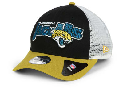 Jacksonville Jaguars New Era NFL Kids Trucker Joy 9FORTY Cap