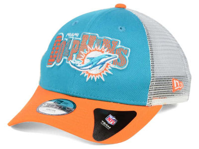 Miami Dolphins New Era NFL Kids Trucker Joy 9FORTY Cap
