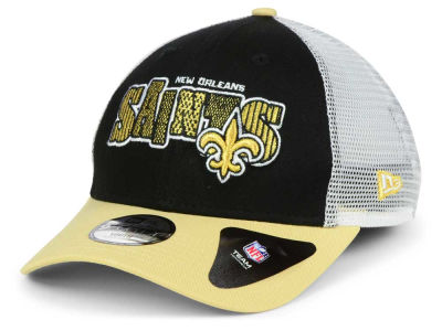 New Orleans Saints New Era NFL Kids Trucker Joy 9FORTY Cap