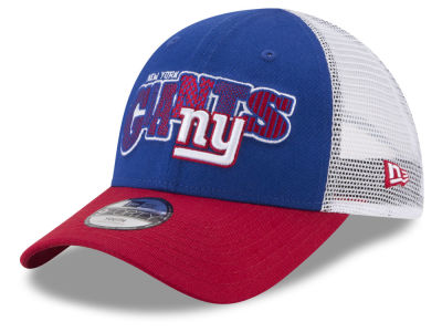 New York Giants New Era NFL Kids Trucker Joy 9FORTY Cap