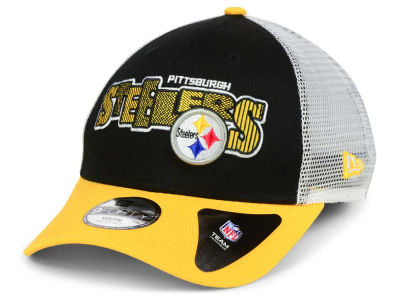 Pittsburgh Steelers New Era NFL Kids Trucker Joy 9FORTY Cap