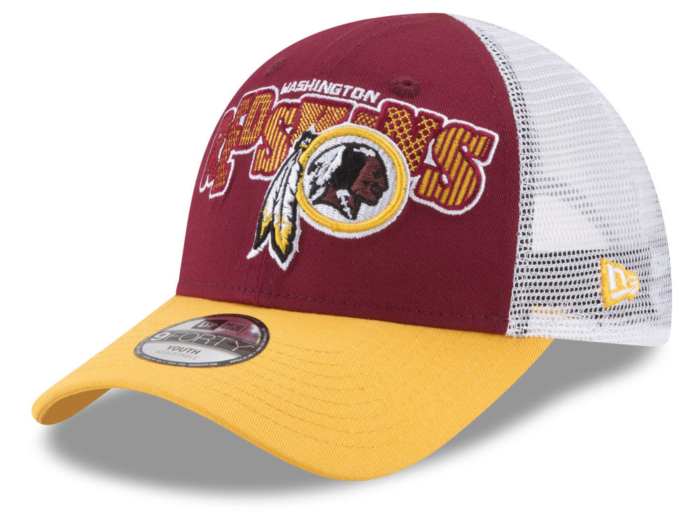 Washington Redskins New Era NFL Kids Trucker Joy 9FORTY Cap  979e80ff3