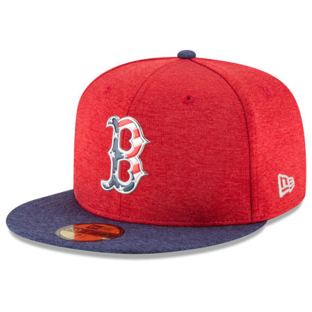 Boston Red Sox New Era 2017 MLB Authentic Collection Stars & Stripes 59FIFTY Cap
