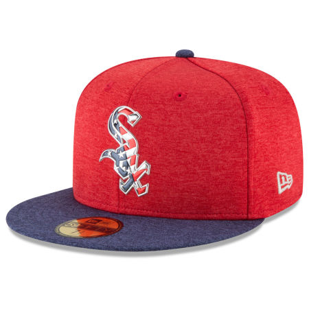 Chicago White Sox New Era 2017 MLB Authentic Collection Stars & Stripes 59FIFTY Cap