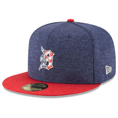 Detroit Tigers New Era 2017 MLB Authentic Collection Stars & Stripes 59FIFTY Cap