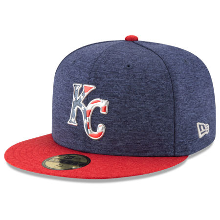 Kansas City Royals New Era 2017 MLB Authentic Collection Stars & Stripes 59FIFTY Cap