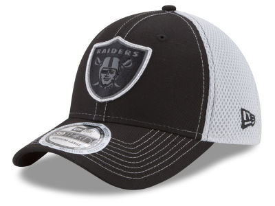 9a32af36a221ad Oakland Raiders New Era NFL Pop Flect 39THIRTY Cap