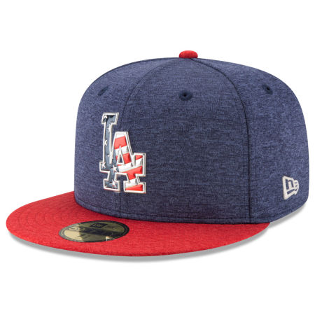 Los Angeles Dodgers New Era 2017 MLB Authentic Collection Stars & Stripes 59FIFTY Cap