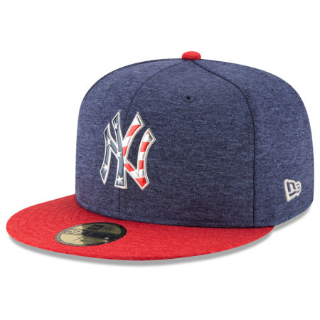 New York Yankees New Era 2017 MLB Authentic Collection Stars & Stripes 59FIFTY Cap