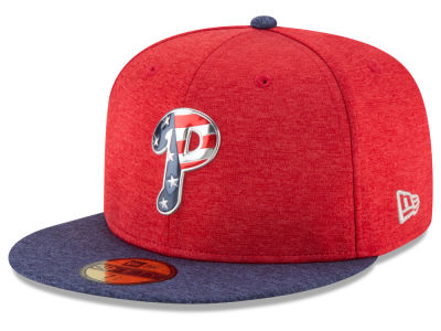 Philadelphia Phillies New Era 2017 MLB Authentic Collection Stars & Stripes 59FIFTY Cap