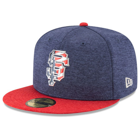 San Francisco Giants New Era 2017 MLB Authentic Collection Stars & Stripes 59FIFTY Cap