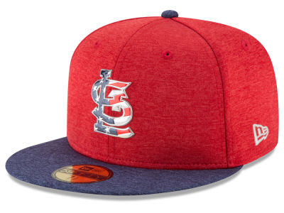 St. Louis Cardinals New Era 2017 MLB Authentic Collection Stars & Stripes 59FIFTY Cap