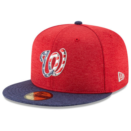 Washington Nationals New Era 2017 MLB Authentic Collection Stars & Stripes 59FIFTY Cap
