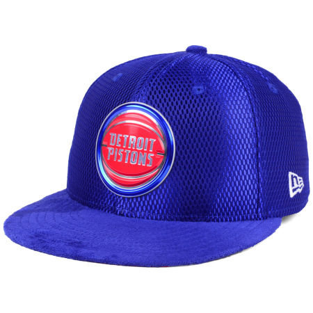 Detroit Pistons New Era NBA On-Court Collection Draft 59FIFTY Cap