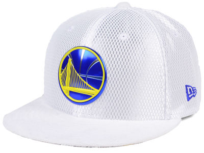 Golden State Warriors New Era NBA On-Court Collection Draft 59FIFTY Cap