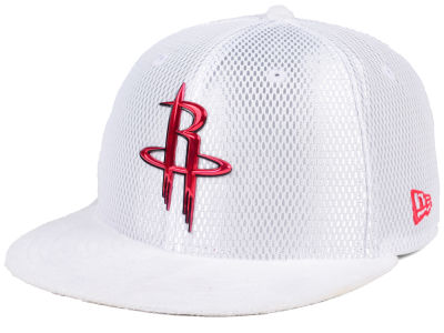 Houston Rockets New Era NBA On-Court Collection Draft 59FIFTY Cap