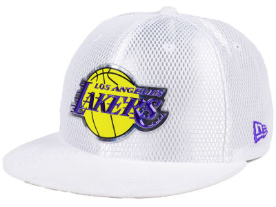 Los Angeles Lakers New Era NBA On-Court Collection Draft 59FIFTY Cap
