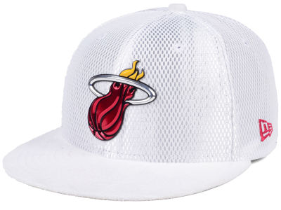 Miami Heat New Era NBA On-Court Collection Draft 59FIFTY Cap