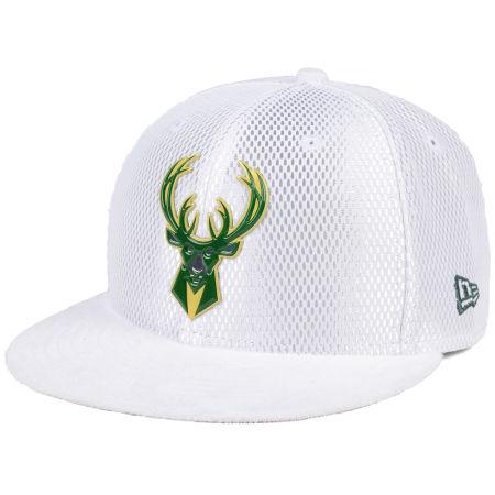 Milwaukee Bucks New Era NBA On-Court Collection Draft 59FIFTY Cap