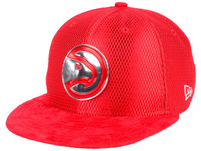 Atlanta Hawks New Era NBA On-Court Collection Draft 9FIFTY Snapback Cap