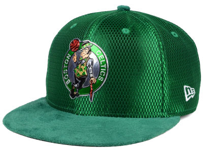 Boston Celtics New Era NBA On-Court Collection Draft 9FIFTY Snapback Cap