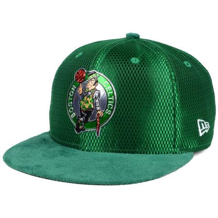 Boston Celtics New Era NBA On-Court Collection Draft 9FIFTY Snapback Cap