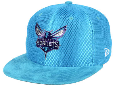 Charlotte Hornets New Era NBA On-Court Collection 9FIFTY Snapback Cap