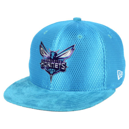Charlotte Hornets New Era NBA On-Court Collection Draft 9FIFTY Snapback Cap