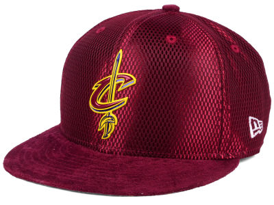 Cleveland Cavaliers New Era NBA On-Court Collection Draft 9FIFTY Snapback Cap