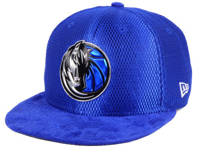 Dallas Mavericks New Era NBA On-Court Collection Draft 9FIFTY Snapback Cap