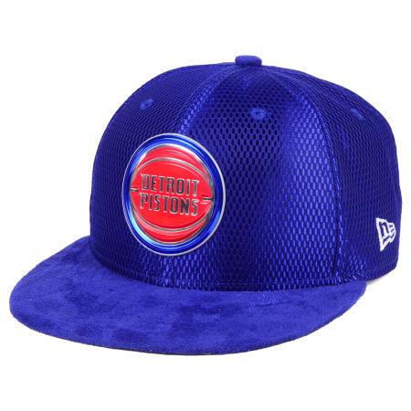 Detroit Pistons New Era NBA On-Court Collection Draft 9FIFTY Snapback Cap