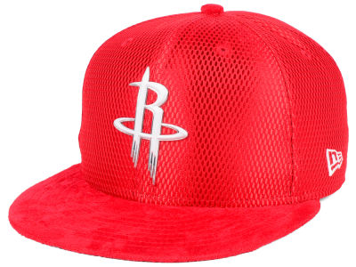Houston Rockets New Era NBA On-Court Collection Draft 9FIFTY Snapback Cap