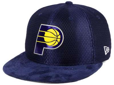 Indiana Pacers New Era NBA On-Court Collection Draft 9FIFTY Snapback Cap