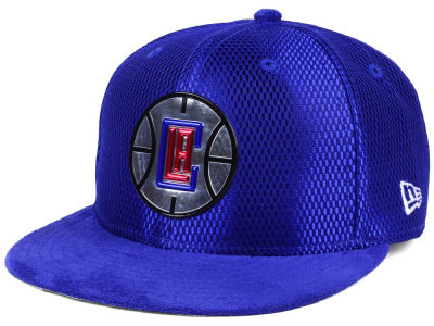 Los Angeles Clippers New Era NBA On-Court Collection Draft 9FIFTY Snapback Cap