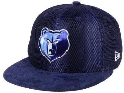 Memphis Grizzlies New Era NBA On-Court Collection Draft 9FIFTY Snapback Cap