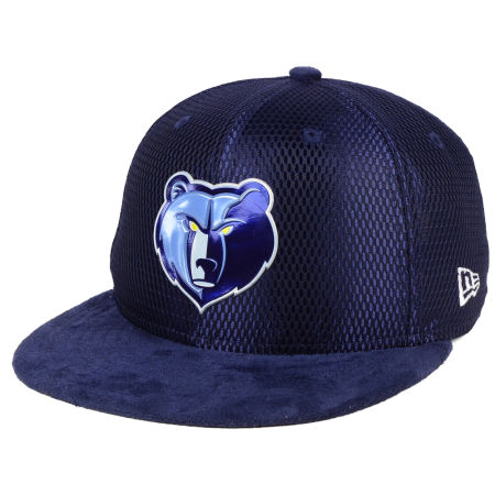 Memphis Grizzlies New Era NBA On-Court Collection Draft 9FIFTY Snapback Cap