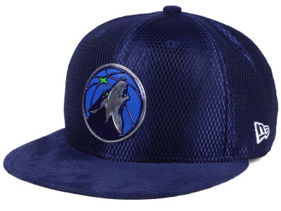 Minnesota Timberwolves New Era NBA On-Court Collection Draft 9FIFTY Snapback Cap
