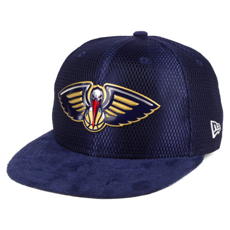 New Orleans Pelicans New Era NBA On-Court Collection Draft 9FIFTY Snapback Cap