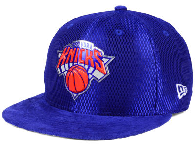 New York Knicks New Era NBA On-Court Collection Draft 9FIFTY Snapback Cap