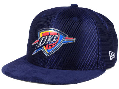 Oklahoma City Thunder New Era NBA On-Court Collection Draft 9FIFTY Snapback Cap