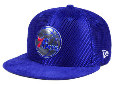 Philadelphia 76ers New Era NBA On-Court Collection Draft 9FIFTY Snapback Cap